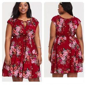 8c9b2690d2335 Torrid Dresses | Corset Jersey Knit Tee Shirt Dress | Poshmark